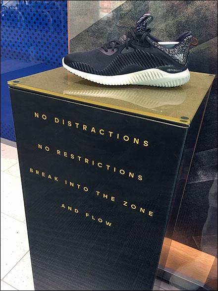 Adida No Distractions No Restrictions Display Main