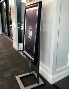 A&F New Arrivals Easel 1