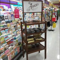 Asher's Cocolate Co Display Rack 1