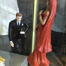 Baker Delight Porcelain Wedding Cake Toppers 2