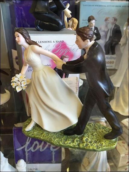 Baker Delight Porcelain Wedding Cake Toppers 3