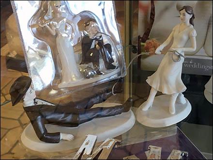 Baker Delight Porcelain Wedding Cake Toppers Main