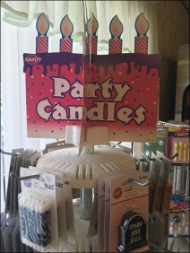 Bakery Delight Party Candle Table Top Spinner 3