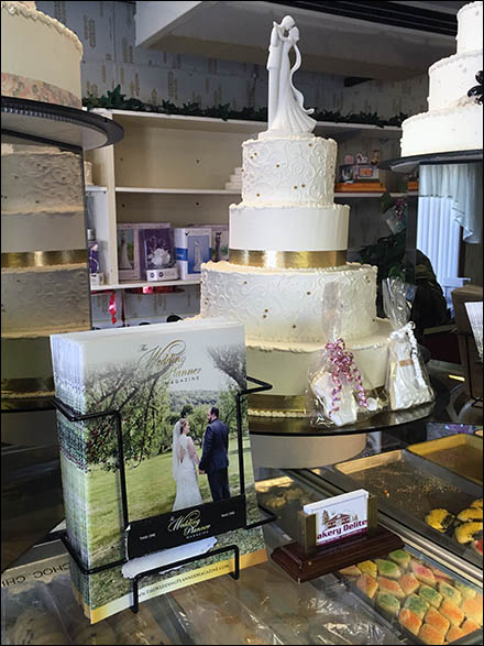Bakery Delight Wedding Planner Literature Holder Main