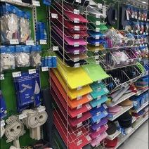 Declined Foam Sheet Rack 1