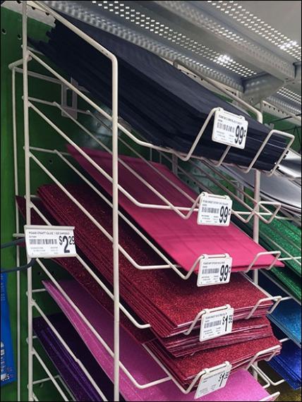 Declined Foam Sheet Rack 3