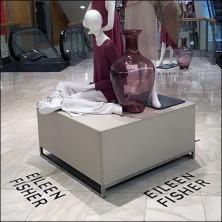 Eileen Fisher Omni-Directional Floor Graphic Feature