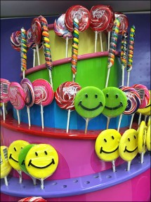 Lollipop Tower Display 3