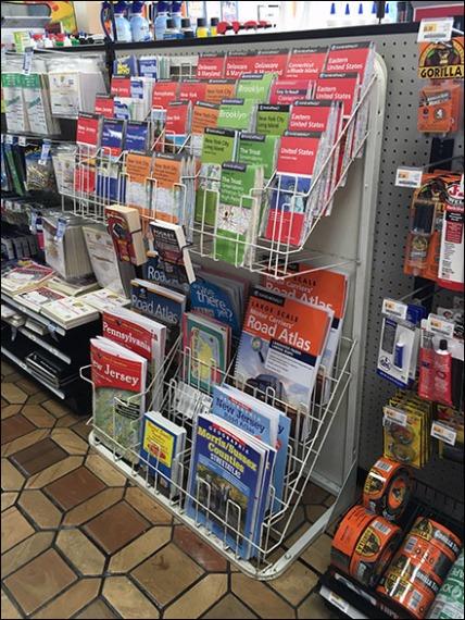 Map Literature Rack 1