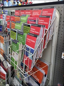 Map Literature Rack 2