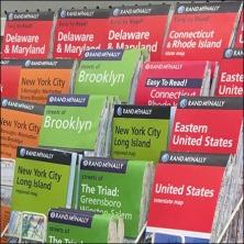 Map Literature Rack Feature