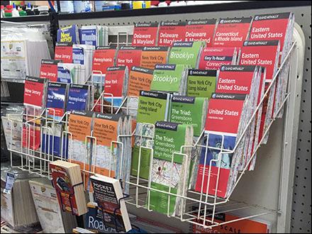 Map Literature Rack Main