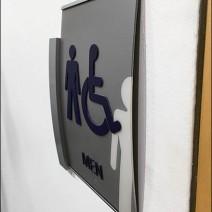 Mercedes Benz Manhattan C-Channel Restroom Ghost Sign 3
