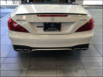 Mercedes Benz Manhattan License Plate Branding 1