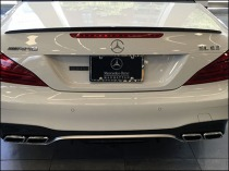 Mercedes Benz Manhattan License Plate Branding 2