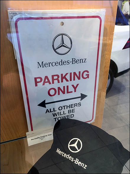 Mercedes Benz Manhattan MB Parking Only Main
