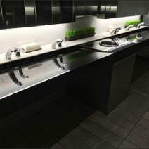 Mercedes Benz Manhattan Restroom Grass Landscaping 1