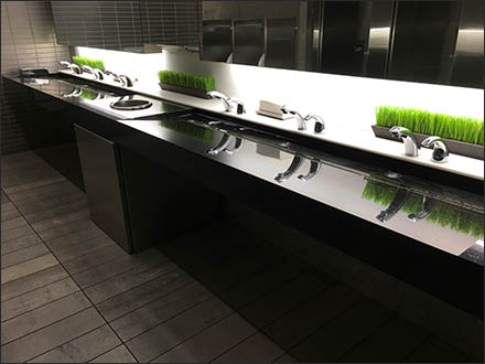 Mercedes Benz Manhattan Restroom Grass Landscaping Aux2
