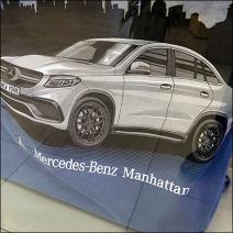 Mercedes Benz Manhattan T-Shirt Feature