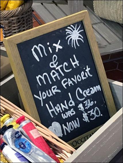 Mix N Match Hand Creme Chalkboard 3