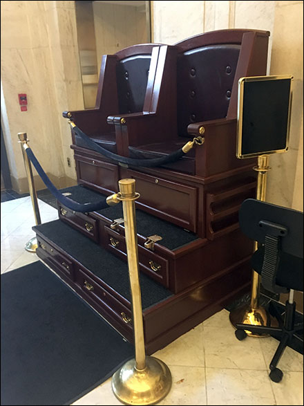 Ritz Carlton Lobby Shoeshine Stand Main