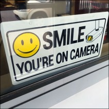 Smike Video Camera Surveillance Warning Feature