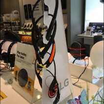Sprint LG Headphone Display Tower 2