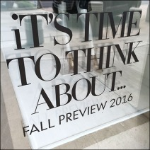 Time To Think About Fall 2016 Window Cling Feature