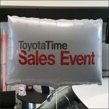Toyota Square Balloon Sales Celebration Feature