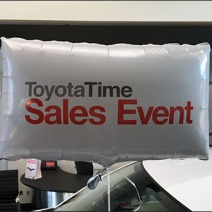 Toyota Square Balloon Sales Celebration Main