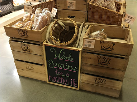 Whole Grains for a Healthy Life Chalkboard Main