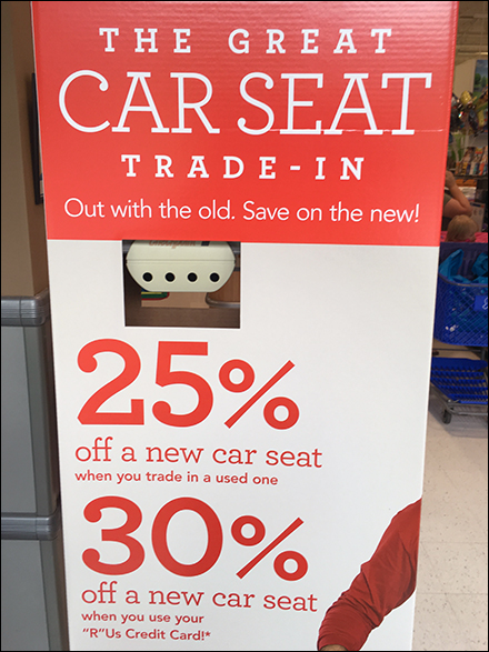 Toys R Us Trade In Old Car Seat