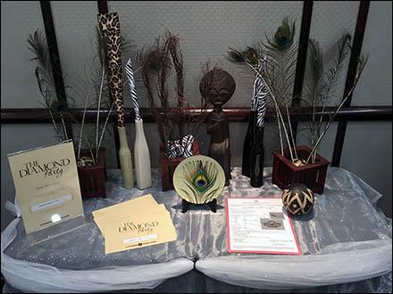 littmans-jewelers-diamond-party-peacock-feather-display