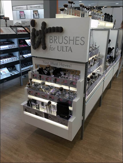 Ultra Cosmetics Brush Endcap Display 1
